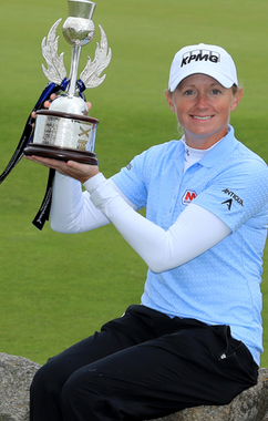 Stacy Lewis 2013 Women's British Open Victory